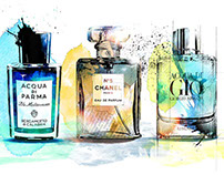 Fragrance Illustrations