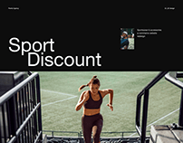 Sport Discount — e-commerce redesign