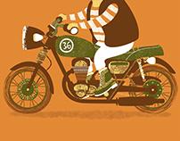 Biker Bunny