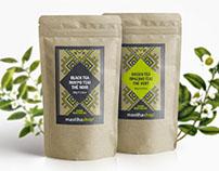 mastihashop | Ceylon Black & Green tea | packaging