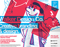 Direct mail poster design