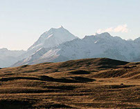 New-Zealand by the Alps