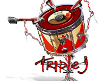Triple J - Logo Illustration Competition