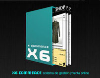 X6 COMMERCE, Shop OnLine (CMS).