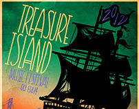 Treasure Island Music Festival Poster