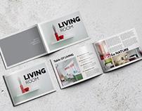 Bi-fold Horizontal Brochure Mockups