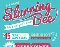 Slurring Bee Event Poster