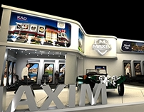 Maxim Holding Booth - CITYSCAPE EGYPT 2013