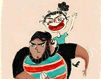 Chiquito y Marga