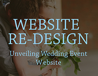 Unveiling Wedding Event Website