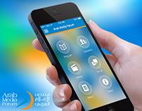 Arab Media Forum App