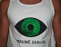 Imagine Dragons Album Cover, T-shirt, & Poster