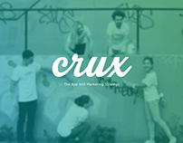Crux: App Design and Marketing
