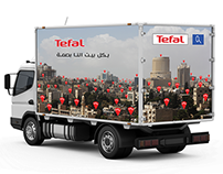 design on truck