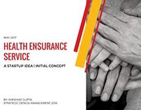 Health Ensurance Service - Startup Concept