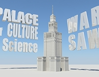 Palace of Culture and Science - 3D model