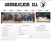 Generation ILL B-Boy Crew Website