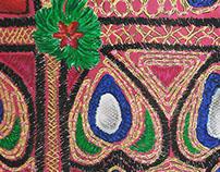 Rajistani Embroidery Detailed study & Exploration