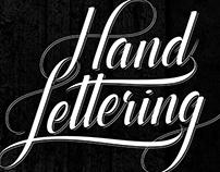 """Hand Lettering' Typo"