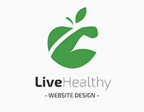 Live Healthy - Website Design