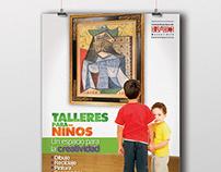 Serie de Afiches de Talleres para niños