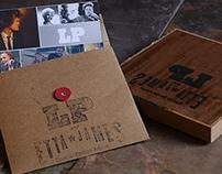 LP and Etta James CD case Design