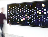Defining Moments Interactive Touch Wall