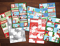 Dollar General Christmas Tags 2014