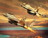 Pratt & Whitney - Israel Air Force Day Ad