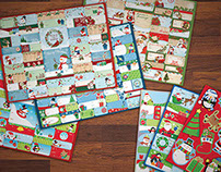Dollar Tree Christmas Gift Tags 2014
