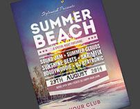 Summer Beach Flyer