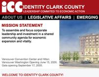 Identity Clark County Website Uplift Mockup