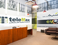 Backgrounds for teleMax Umniah Reception