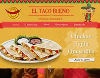 Mexican Restaurant Website