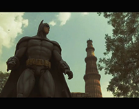 BATMAN in DELHI.