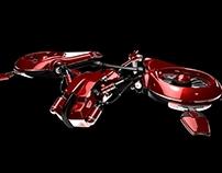 3D Sic-Fi Ship Modelling