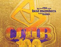 Club 100 / Logo / AstraZeneca
