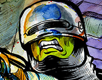 Robocop Illustration