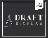Draft Display: FREE FONT