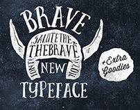Brave New Font Extra Goodies On Behance