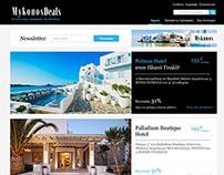Travel Deals Website