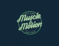 Muscle & Motion branding