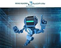 Bank al Jazira Robot