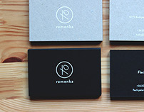 Ramenka' business cards