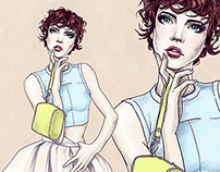 Fashion illustrations -  SS2014
