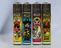 Designes for CLIPPER lighters series