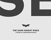 RISE | Batman Tribute Poster