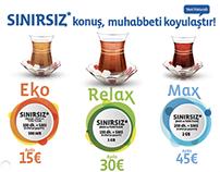 Türk Telekom Mobile  - Muhabbeti Koyulaştıran Tarifeler