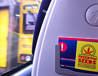 Freedom Seeds stickers