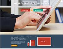 BizNex - Premium Business WordPress Theme